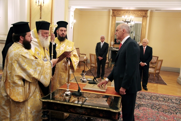 Prime_Minister_of_Greece_George_Papandreou_taking_his_Oath_of_Office_-_2009Oct06