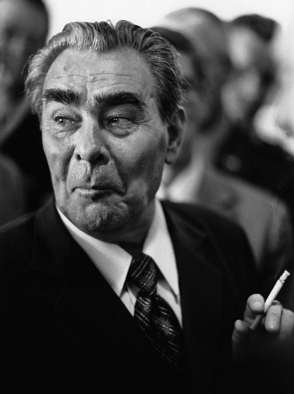 Leonind Brezhnev, Helsinki, 1975